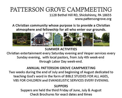 Patterson Grove CampMeeting